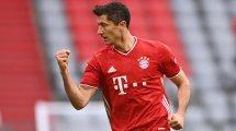Europas Top-Torjäger: Lewandowski fast konkurrenzlos