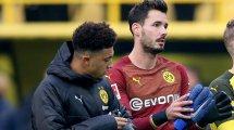 BVB: Deutliche Bürki-Kritik an Sancho