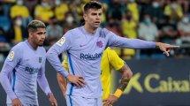 Barça: Piqué Richtung Abstellgleis?