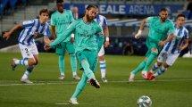 Real schließt zu Barça auf