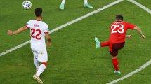 Italien-Duo an Shaqiri dran