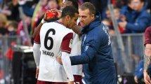 FC Bayern: Flick spricht über Thiago und Hakimi