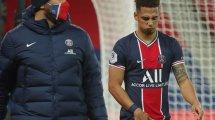 PSG: Fünf Spieler auf der Abschussliste