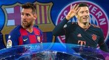 Barça vs. FC Bayern: Die voraussichtlichen Aufstellungen
