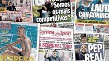 Lautaros giftiger Gruß an die Fans | Fünf für Mourinho