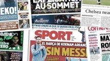 Barca-Umkleide wegen Messi geteilt  | Juve: Suárez oder Dzeko?