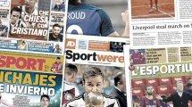 Frustrierte Franzosen in Barcelona | Sancho will nicht mehr zu United