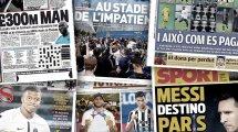 """Inters """"letzte Tränen""""   Profitiert Real von Messi?"""