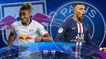 RB Leipzig vs. Paris St. Germain: Die voraussichtlichen Aufstellungen