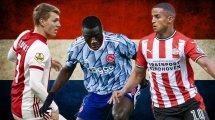 Die zehn besten Talente aus der Eredivisie