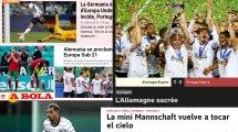 """U21-Triumph: Internationale Presse feiert die """"Mini-Mannschaft"""""""