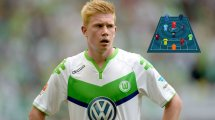 Ohne Abgänge: Die Traumelf des VfL Wolfsburg