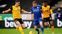 Leicester verlängert mit Barnes