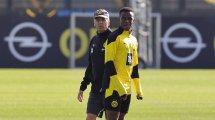 Hertha - BVB: Moukoko zunächst auf der Bank