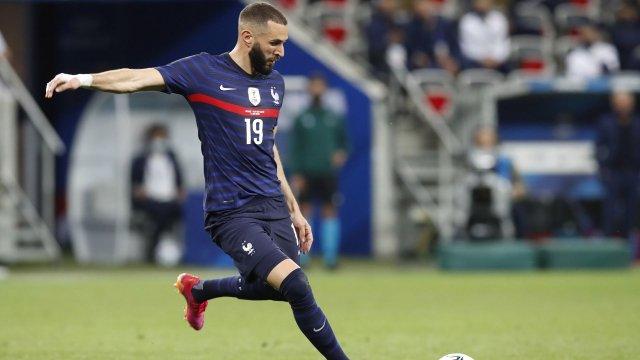 Karim Benzema im Trikot der französischen Nationalmannschaft