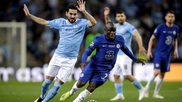 N'Golo Kanté im Champions League-Finale