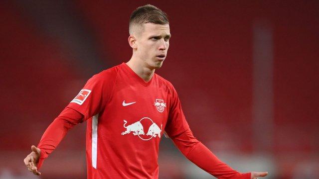 Dani Olmo im Trikot von RB Leipzig