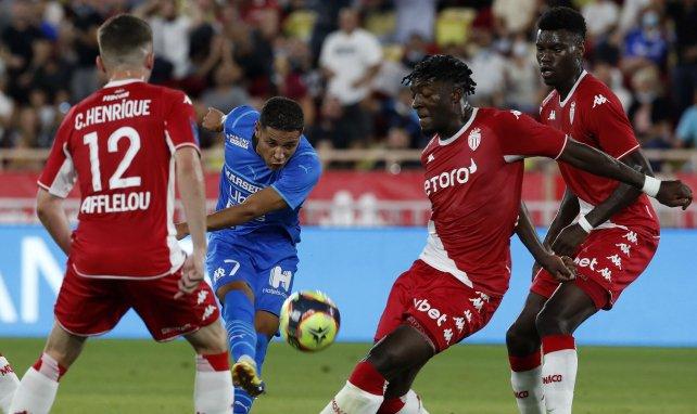 Amine Harit im Einsatz für Olympique Marseille