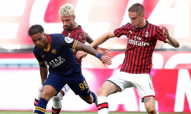 Milan verleiht Conti