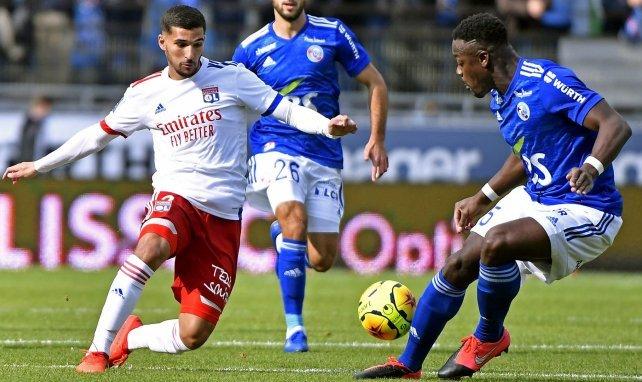 Houssem Aouar ist französischer Nationalspieler