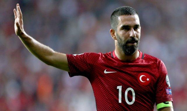 Arda Turan im Einsatz für die türkische Nationalmannschaft