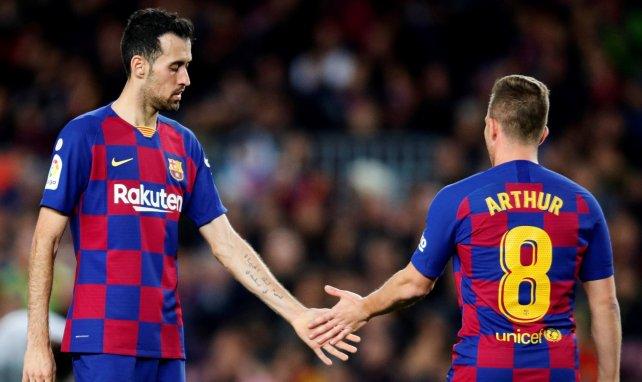 Arthur ist in Barcelona fest eingeplant