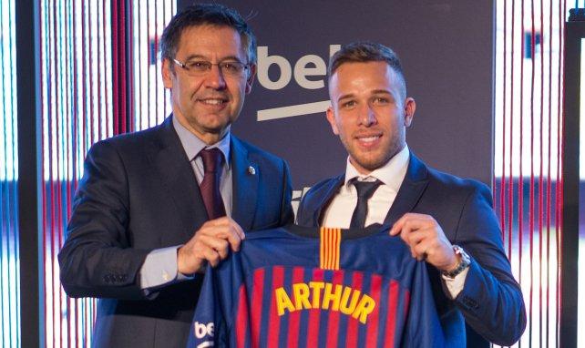 """""""Mangel an Respekt"""": Barça-Präsident schießt gegen Arthur"""