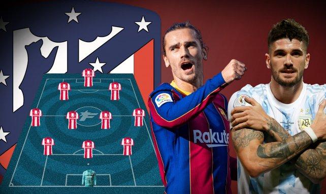 Atlético hofft auf die Rückkehr von Antoine Griezmann