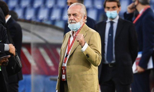Napoli-Präsident erläutert Osimhen-Transfer