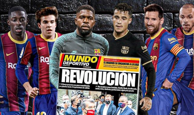 Revolution bei Barça: 14 Abgänge?