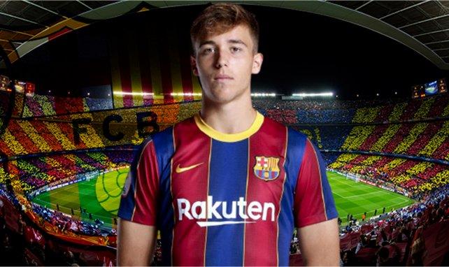 Nico González will sich in Barcelona durchsetzen