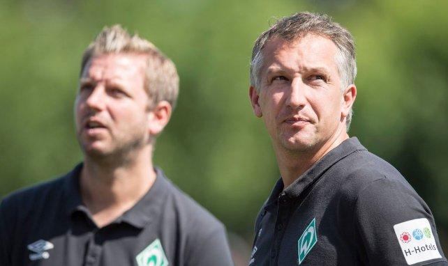 Florian Kohfeldt und Frank Baumann