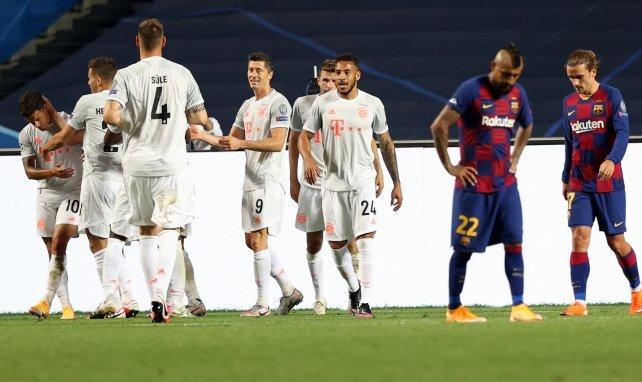 Barça - FC Bayern 2:8 | Die Noten zum Spiel
