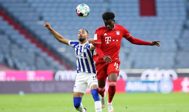 Davies zurück im Bayern-Training