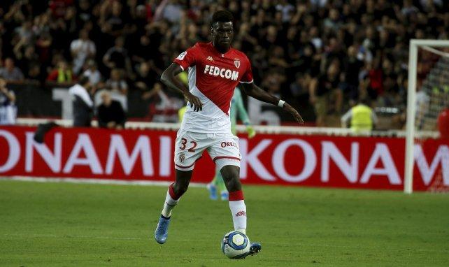 Benoît Badiashile im Trikot der AS Monaco