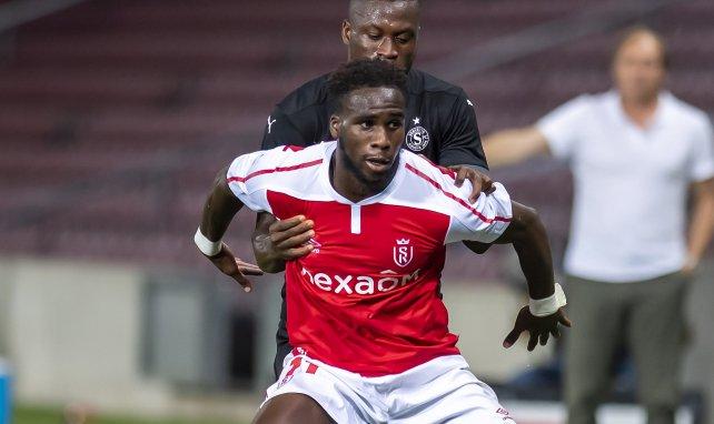 Boulaye Dia im Trikot von Stade Reims