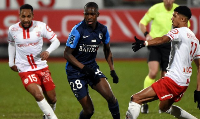 Check Oumar Diakité (M.) im Einsatz für Paris