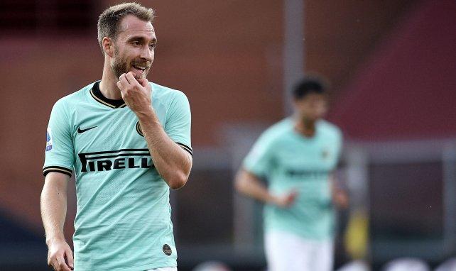 Christian Eriksen spielt seit Januar 2020 bei Inter Mailand