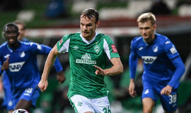 Christian Groß für Werder im Einsatz