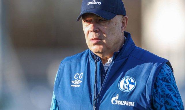 Christian Gross ist Trainer auf Schalke