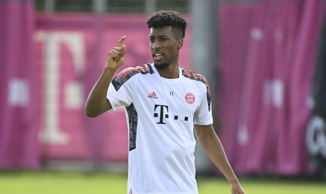 Kingsley Coman im Bayern-Training