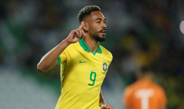 Matheus Cunha im Trikot der Nationalmannschaft