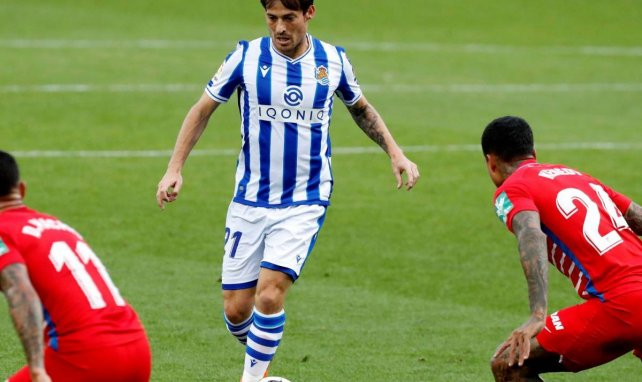 David Silva zaubert inzwischen für Real Sociedad