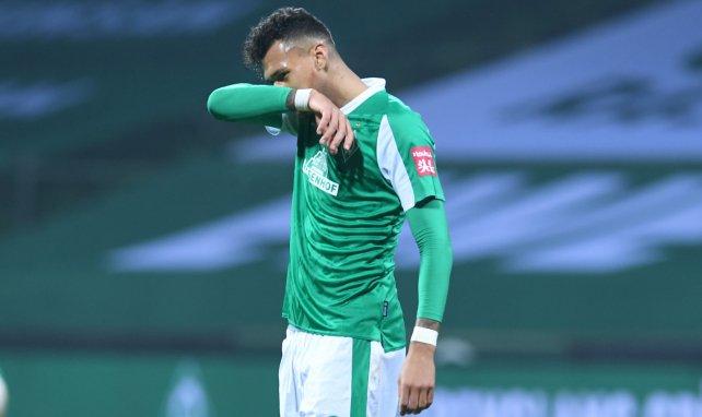 Davie Selke im Trikot von Werder Bremen
