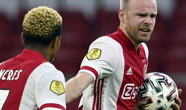 Davy Klaassen im Trikot von Ajax Amsterdam