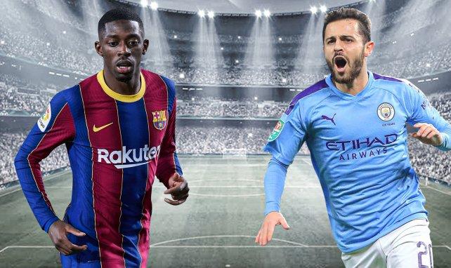 Zwei gegen Zwei: Barça will Doppeltausch mit City