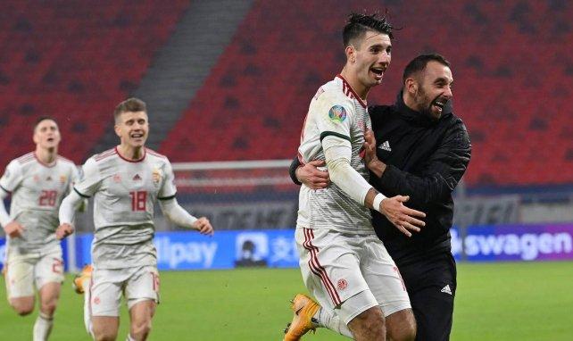 Dominik Szoboszlai bejubelt seinen Siegtreffer für Ungarn
