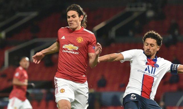 United verlängert mit Cavani