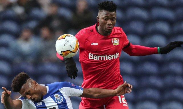 Edmond Tapsoba überzeugt bei Bayer 04