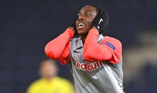 Enock Mwepu im Trikot von RB Salzburg